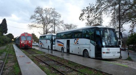 Κόβει τα λεωφορεία από Βόλο για Λάρισα ο ΟΣΕ – Απομονώνεται και πάλι ο Βόλος