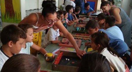 """Τα παιδιά της """"Κατασκήνωσης στην Πόλη"""" παίζουν με τα """"Παιχνίδια του Κόσμου"""""""