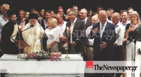 Ορκίστηκε ο Δημήτρης Νασίκας και το νέο δημοτικό συμβούλιο Ρ. Φεραίου [εικόνες]