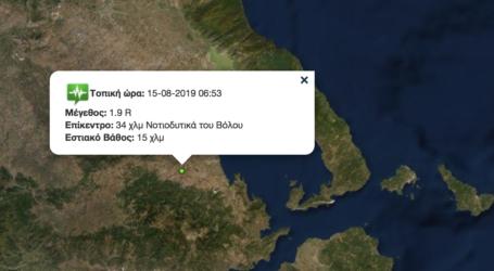 Ασθενής σεισμός στον Αλμυρό [χάρτης]