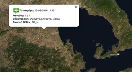Δίδυμος σεισμός σε λίγες ώρες στον Αλμυρό [χάρτης]