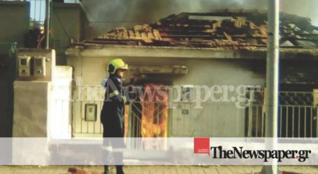 Η ανακοίνωση της Πυροσβεστικής υπηρεσίας για τη φωτιά σε σπίτι στον Βόλο