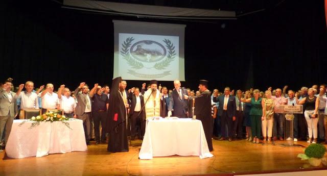 Ορκίστηκε η νέα δημοτική αρχή στην Ελασσόνα - Δείτε φωτογραφίες