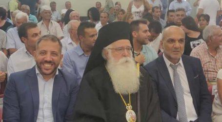 Ο Αλέξανδρος Μεϊκόπουλος στον Αλμυρό για την Ορκωμοσία του νέου Δημοτικού Συμβουλίου
