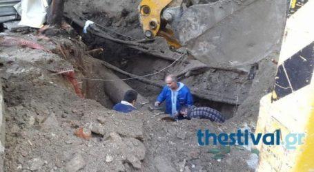 Χωρίς νερό παραμένουν περιοχές στη Θεσσαλονίκη