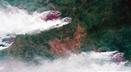 Oι πυρκαγιές στη Σιβηρία από το Διάστημα