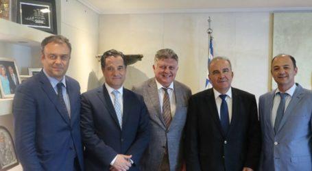 Συνάντηση Γεωργιάδη – εξαγωγέων: Στο επίκεντρο η δημιουργία διεθνούς εμπορικής ζώνης στη Θεσσαλονίκη