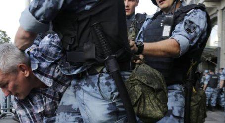 Προσαγωγή 381 διαδηλωτών από την αστυνομία στη Μόσχα, σύμφωνα με ανεξάρτητη οργάνωση