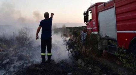 Υπό έλεγχο φωτιά στα Δικαστικά στον Μαραθώνα