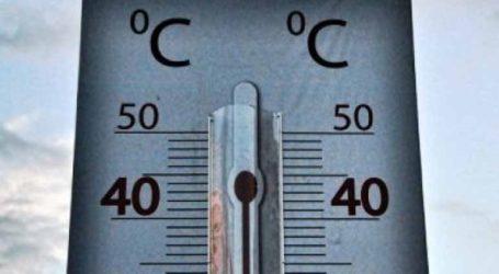 Ξεπέρασε τους 40 βαθμούς η θερμοκρασία