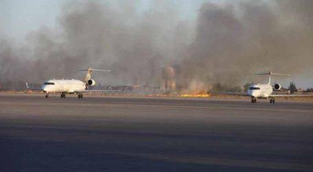 Κλειστό λόγω νέων βομβαρδισμών το αεροδρόμιο της Τρίπολης