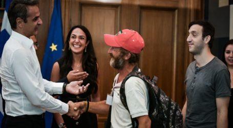 Κ. Μητσοτάκης στην Εθνική Ομάδα Αστέγων: «Είστε φάρος αισιοδοξίας»