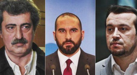 Πυρά κατά της κυβέρνησης από Π.Πολάκη, Ν. Παππά και Δ. Τζανακόπουλο για το νομοσχέδιο για άσυλο και κυβερνησιμότητα ΟΤΑ