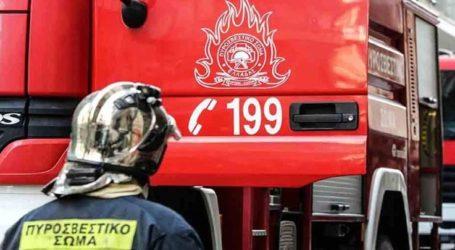 Αναστάτωση σε συνοικία της Λάρισας – Άγνωστοι έβαλαν φωτιά σε οικόπεδο