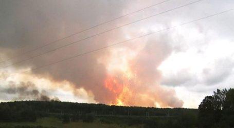 Κατασβέστηκε η πυρκαγιά σε αποθήκες πυρομαχικών στην Σιβηρία