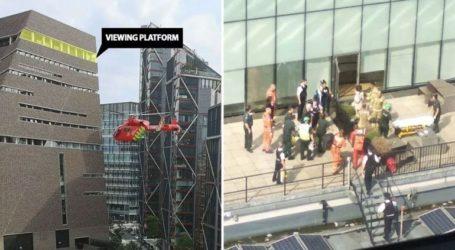 Το αγοράκι που έριξαν από τον 10ο όροφο της Tate Modern υπέστη εγκεφαλική αιμορραγία