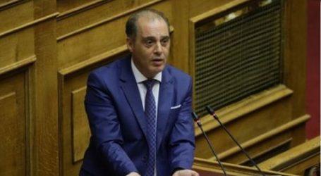 Παρέμβαση του Κυριάκου Βελόπουλου στη Βουλή για τα ελληνοτουρκικά