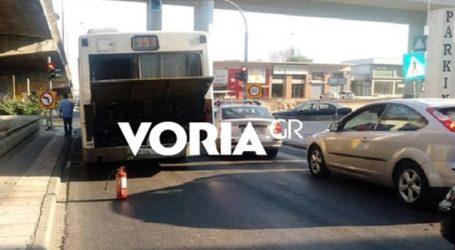 Νέα βλάβη σε λεωφορείο του ΟΑΣΘ