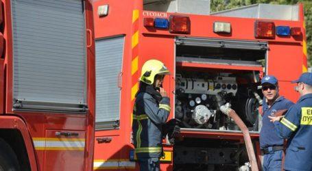Τουριστικό λεωφορείο τυλίχτηκε στις φλόγες ανάμεσα στα τούνελ του Βερμίου