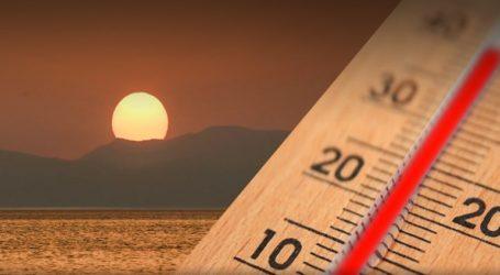 Θερμοκρασίες… διακοπών από την Παρασκευή