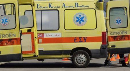Νεκρός 35χρονος σε τροχαίο στον Βόλο