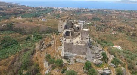 Ένα μοναδικό κάστρο στην κορυφή της Λακωνίας