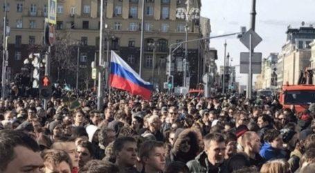 Δεκάδες συλλήψεις διαδηλωτών στη Μόσχα