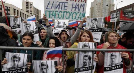 """Κινητοποίηση-ρεκόρ στη Μόσχα με αίτημα τη διεξαγωγή """"ελεύθερων εκλογών"""""""