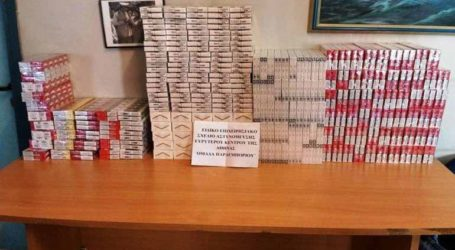 Συνελήφθησαν αλλοδαποί με 11.000 πακέτα λαθραίων τσιγάρων