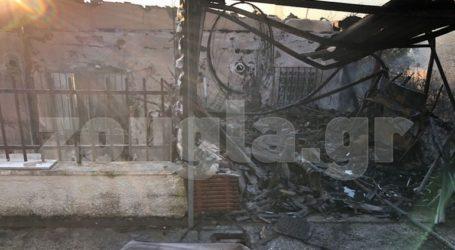 Video και φωτογραφίες από τα καμένα σπίτια στον Υμηττό