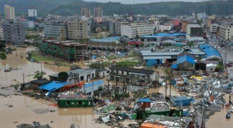 Τουλάχιστον 44 οι νεκροί από το διπλό πλήγμα του τυφώνα Λέκιμα