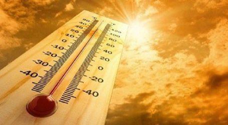 Έως και την Τετάρτη το κύμα ζέστης, θα υποχωρήσει σταδιακά από τον Δεκαπενταύγουστο