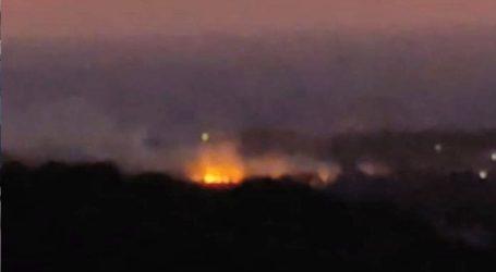 Μεγάλη φωτιά με αρκετά μέτωπα ξέσπασε στη Σαμοθράκη