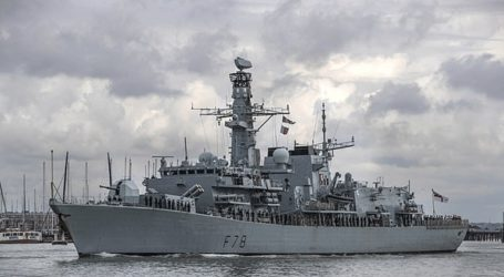 To HMS Kent απέπλευσε για να ενταχθεί στη δύναμη των ΗΠΑ στον Κόλπο
