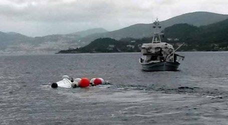 Περισυνελέγησαν σώοι οι δύο επιβαίνοντες φουσκωτού σκάφους