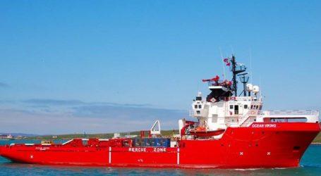 Νέα διάσωση μεταναστών στη Μεσόγειο από το Ocean Viking