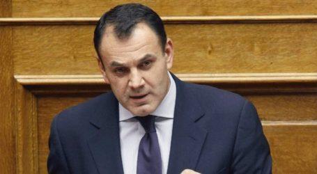 Στο Εθνικό Κέντρο Επιχειρήσεων ο ΥΕΘΑ Ν. Παναγιωτόπουλος