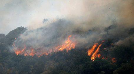Φωτιά στην περιοχή των Καλαβρύτων