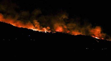 Εύβοια: Το σχέδιο νυχτερινής δράσης της Πυροσβεστικής