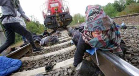 Οικολόγοι διαδηλωτές σταμάτησαν τρένο με αυτοκίνητα της Volkswagen