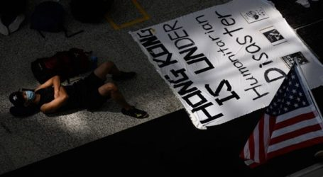 """Το Πεκίνο καταδικάζει τις """"σχεδόν τρομοκρατικές"""" επιθέσεις στο αεροδρόμιο του Χονγκ Κονγκ"""