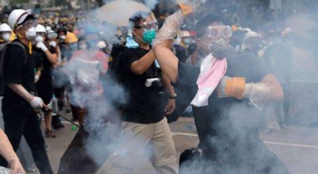 Η αστυνομία εκτόξευσε δακρυγόνα εναντίον διαδηλωτών