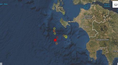 Σεισμός 4,5 Ρίχτερ στο Ιόνιο