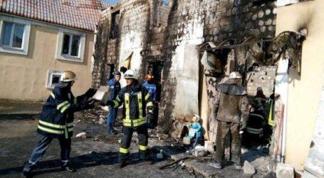 Οκτώ νεκροί σε πυρκαγιά ξενοδοχείου στην Οδησσό