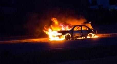 Πυρκαγιά σε αυτοκίνητο στο δήμο Αχαρνών