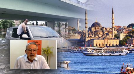 Στο έλεος της πλημμύρας και του Εγκέλαδου η Κωνσταντινούπολη