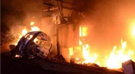 Τουλάχιστον 10 νεκροί σε έκρηξη βυτιοφόρου φορτηγού που μετέφερε καύσιμα