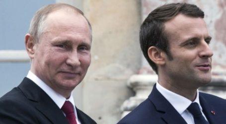 Ο Μακρόν υποδέχεται τον Πούτιν πριν από τη σύνοδο κορυφής της Ομάδας των 7