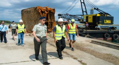 Επίσκεψη του Αρχηγού του Γενικού Επιτελείου Στρατού στο Λιμάνι της Αλεξανδρούπολης