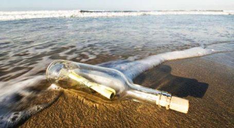 Μπουκάλι με μήνυμα ξεβράστηκε στην Αλάσκα έπειτα από 50 χρόνια